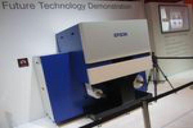 Les directs de la Drupa - Epson pr�sente deux nouvelles presses jet d'encre pour �tiquettes adh�sives