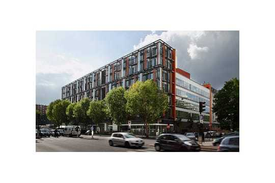 Immeuble Domino, à Paris, siège notamment du groupe papetier Antalis