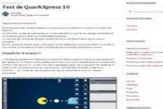 Ce test qui étrille Quark XPress 10 - Graphiline