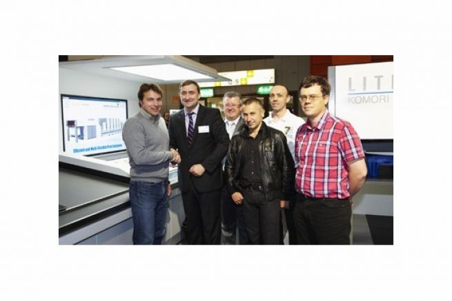 L'imprimerie Maugein renouvelle sa confiance dans Komori