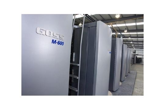 Rotative d'imprimerie Goss M600