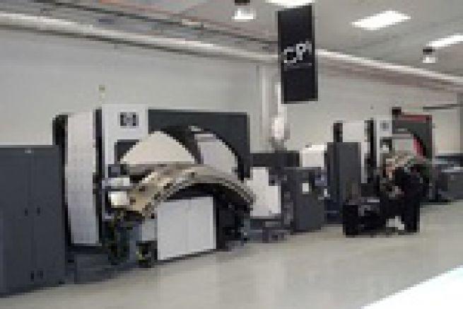 Le groupe d'imprimerie CPI passe commande d'une nouvelle rotative jet d'encre HP T350