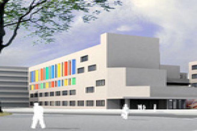 Les nouveaux locaux de l'Ecole des M�tiers de l'Imprimerie de Nantes inaugur�s hier