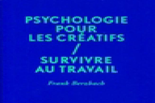 Livre : Psychologie pour les cr�atifs
