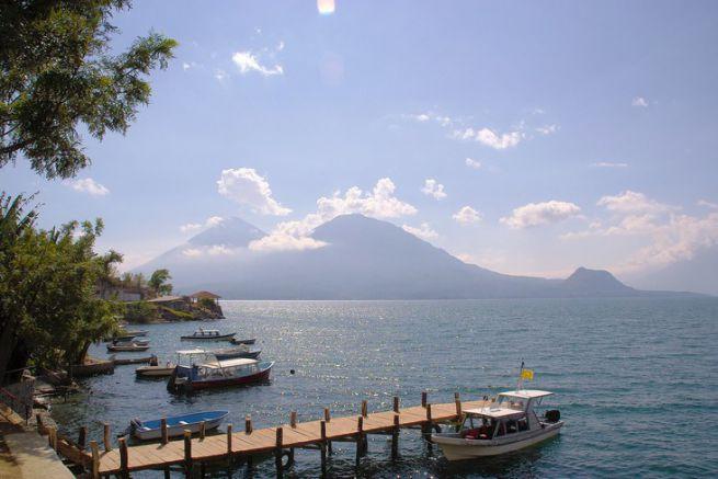 San Pedro de la Laguna au Guatemala