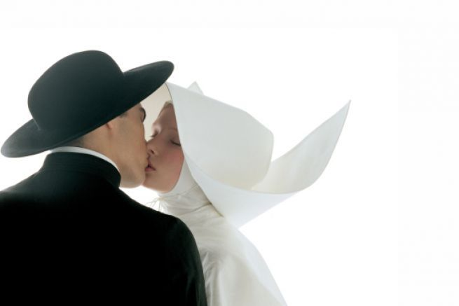 Oliviero Toscani, Kissing-nun, 1992