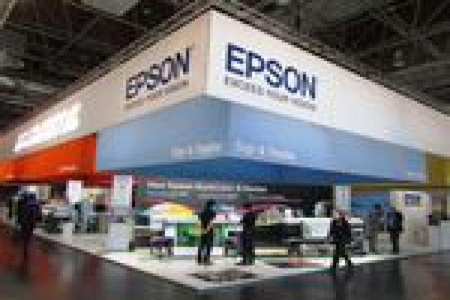 2000 imprimantes grand format Epson SureColor vendues pendant la Drupa