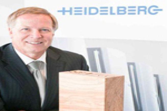 Remise du 2�me troph�e ECO Printing Award de Heidelberg le 6 juillet 2011
