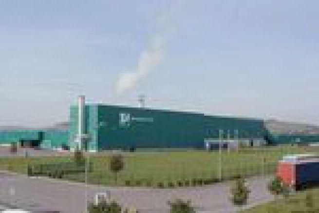 Arjowiggins Graphic augmente la capacit� de son usine de p�te recycl�e de Ch�teau Thierry (02)
