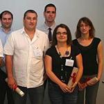La promotion 2009 de la Licence Pro dipl�m�e en juin 2011 � Grenoble INP-Pagora
