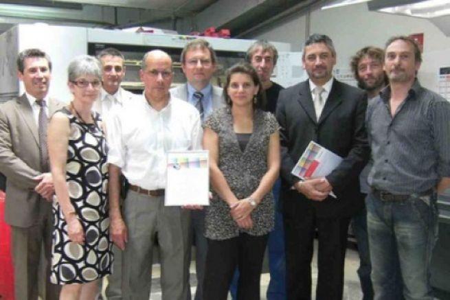 ACI Impression (93), premi�re imprimerie fran�aise certifi�e Iso12647 par... Heidelberg