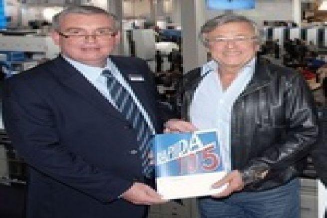 Les directs de la Drupa - premi�re mondiale pour l'imprimerie IAPCA (83) et KBA