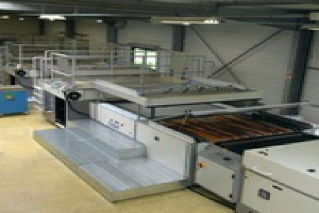 L'imprimerie Sery Ouest (76) r�ceptionne une toute nouvelle presse s�rigraphique Thieme 4 couleurs