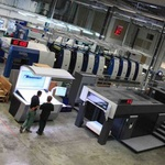 L'imprimerie IN Choisy groupe La Galiote Prenant (94) r�ceptionne une presse offset Heidelberg XL105