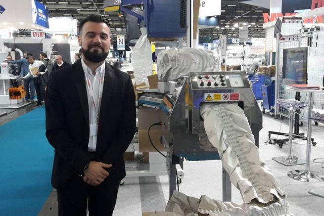 Marc Romba, communication et export de Fromm, et la Packmaster Pro
