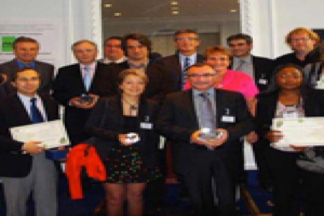 Nicolas Dupont-Aignan � la c�r�monie de remise des dipl�mes et prix Print Environnement 2011