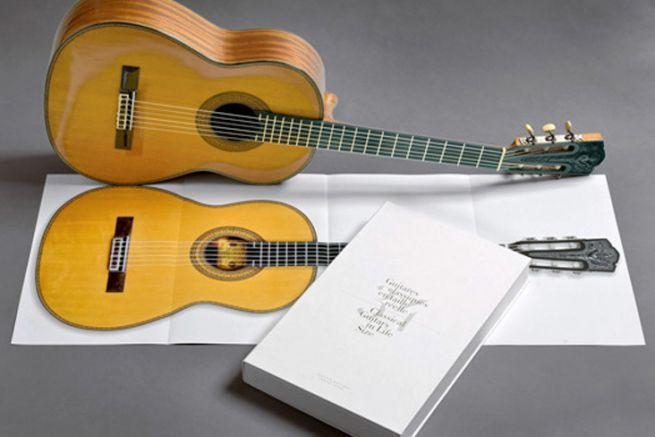 34 Guitares classiques en taille réelle d'Alberto Martinez, aux éditions Camino Verde