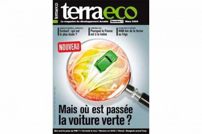 Lancement en kiosque de terra eco, le magazine du d�veloppement durable