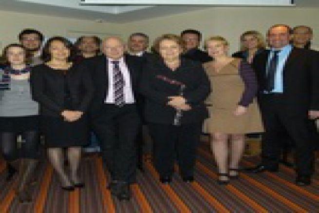 L'Atep pr�sente son nouveau bureau et ses conf�rences 2012