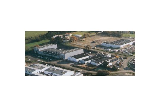 Le site de l'imprimerie Lefrancq à Candé