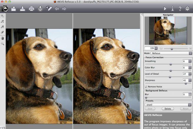 logiciel retouche photo netteté gratuit