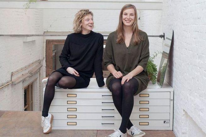 Les belges Tillie Lingier et Linde Luyten ont créé Redopapers