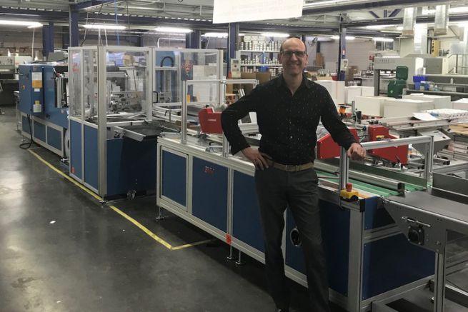 Jean-Jacques Marzona, dirigeant de l'mprimerie Coopérative des Sucs.