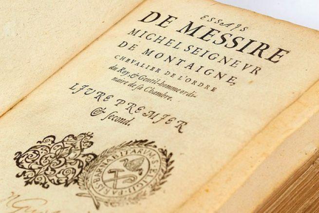 Michel de Montaigne, Essais, Bordeaux, 1580