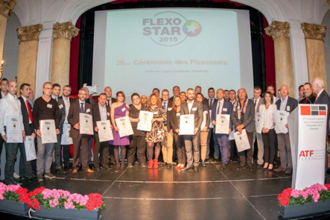 Les gagnants 2016, comme ceux ici de l'édition précédente, remportent un certificat de Flexostar
