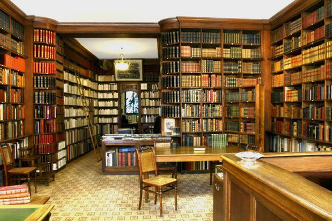 La Librairie Auguste Blaizot dans le 8e arrondissement et fondée en 1840.