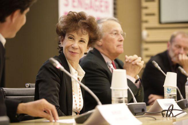 Véronique Collucci, responsable bénévole du service communication des Restos du Coeur