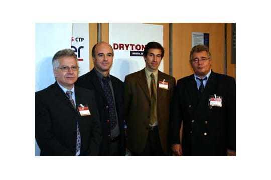 Yves Ouaki (Drytone), Didier Paul (EFI) et Jean-Pierre Moretti (Drytone)