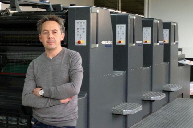 Ludovic Bouley, directeur général de l'imprimerie Bouley fondée par son grand-père.