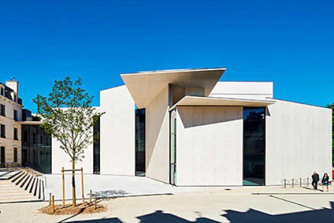 Le Signe, Centre national du graphisme à Chaumont (52) est désormais ouvert au public.