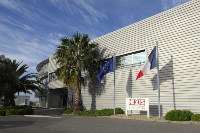 Siège social d'Hexis situé à Frontignan dans l'Hérault