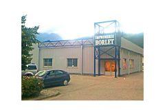 L'imprimerie Borlet - Albertville (73)