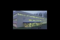Usine de construction de rotatives d'imprimerie Goss, à Montataire (60)