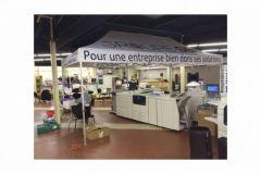 Le salon Imprimag à 24 heures de l'ouverture