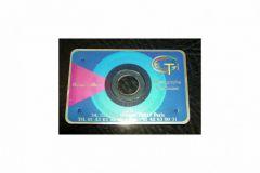 Imprimable en sérigraphie, la Success Card emprunte son format aux cartes de crédit.