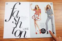 Campagne C&A dans le magazine Contigo