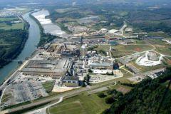 L'usine Calhoun de Résolu est située au Tennessee, aux Etats-Unis.