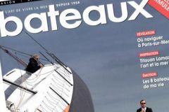 Couverture de la nouvelle formule de Bateaux Magazine