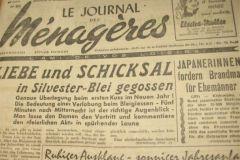 Journal des Ménagères version bilingue