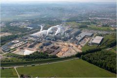 L'usine Norske Skog Golbey située près d'Epinal est l'un des plus importants producteurs de papier journal d'Europe.