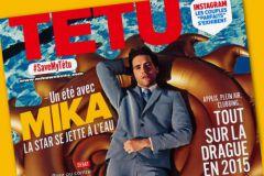 La une du dernier numéro de Têtu daté de juillet 2015.