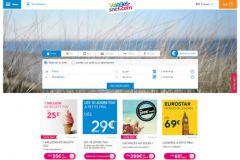 L'herbe de la photo de la home page de la SNCF vacille légèrement.