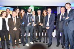 Les lauréats des trophées de l'innovation.