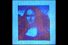 Cette Mona Lisa fait 50 micromètres de long, soit 0,05 mm !