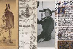 Quatre éléments parmi les milliers disponibles sur le site de la New York Public Library.