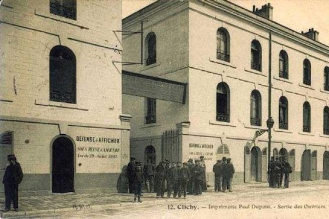 A son apogée, dans l'entre-deux-guerres, l'imprimerie Paul Dupont compte jusqu'à 1 200 employés
